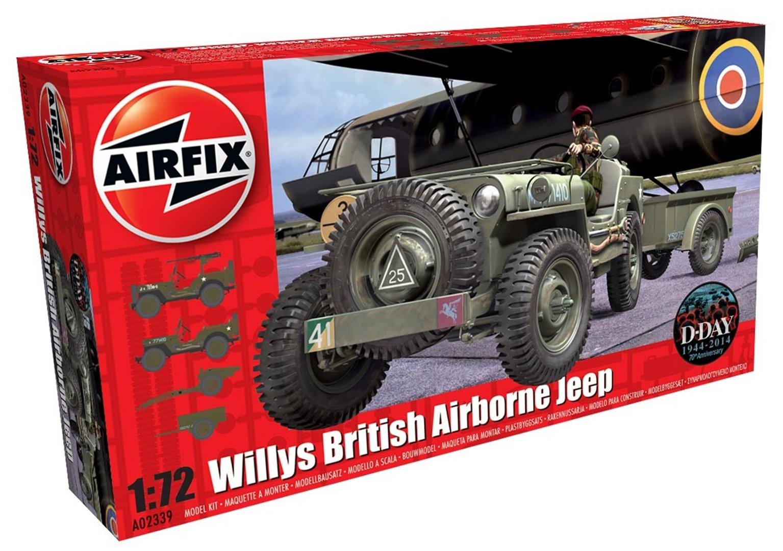 Willys British Airborne Jeep 1:72