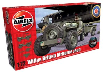 Willys British Airborne Jeep 1:72