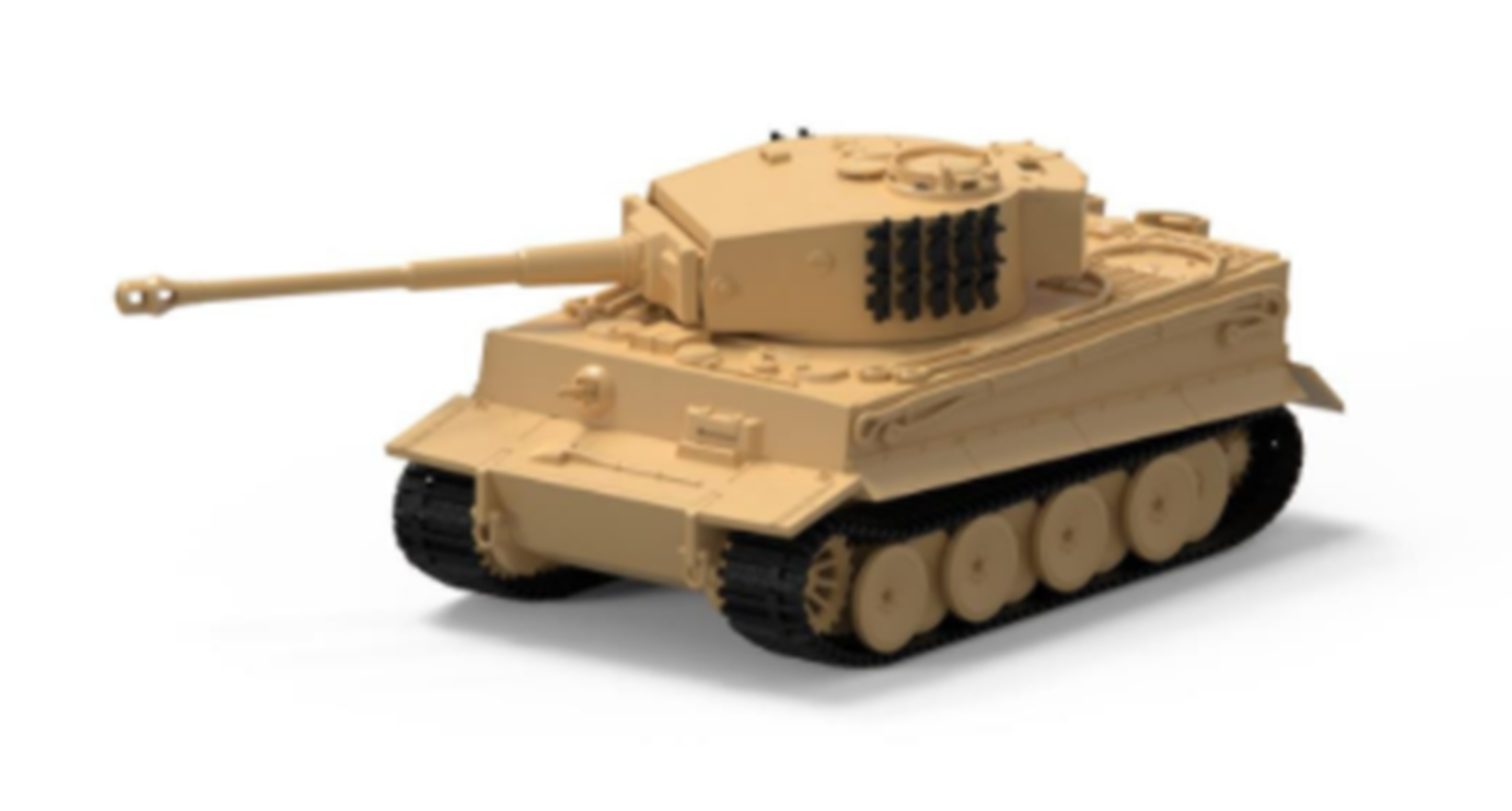 Tiger 1 (1:72 Scale)