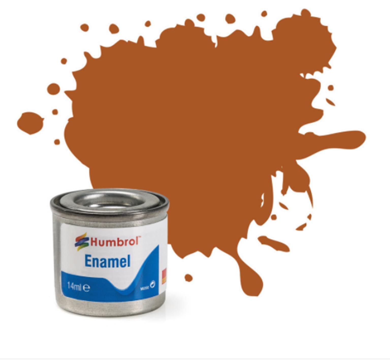 No 9 Tan Gloss Enamel Paint (14ml)