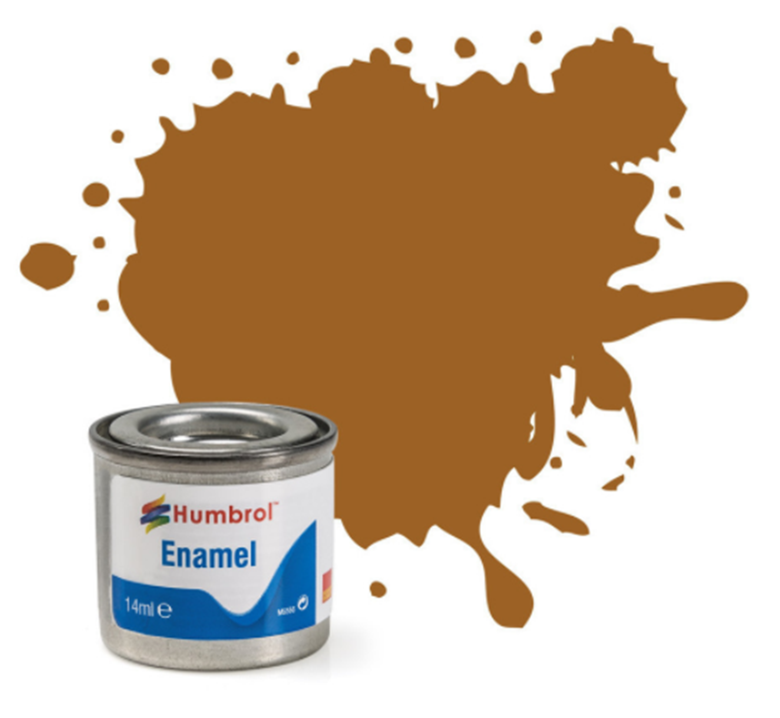 No 12 Copper Metallic Enamel Paint (14ml)