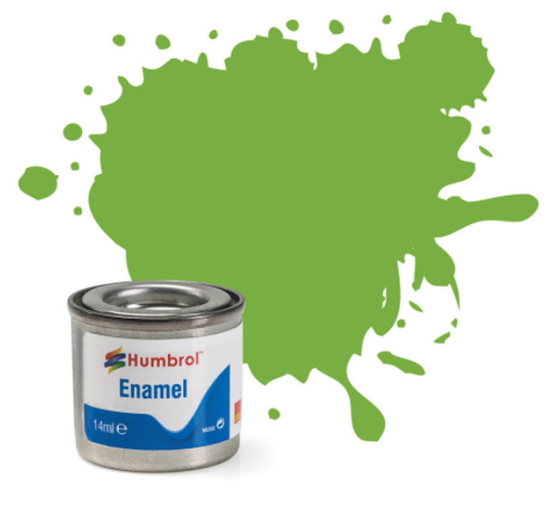 No 38 Lime Gloss Enamel Paint (14ml)