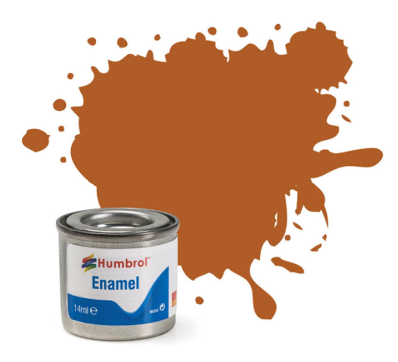 No 55 Bronze Metallic Enamel Paint (14ml)