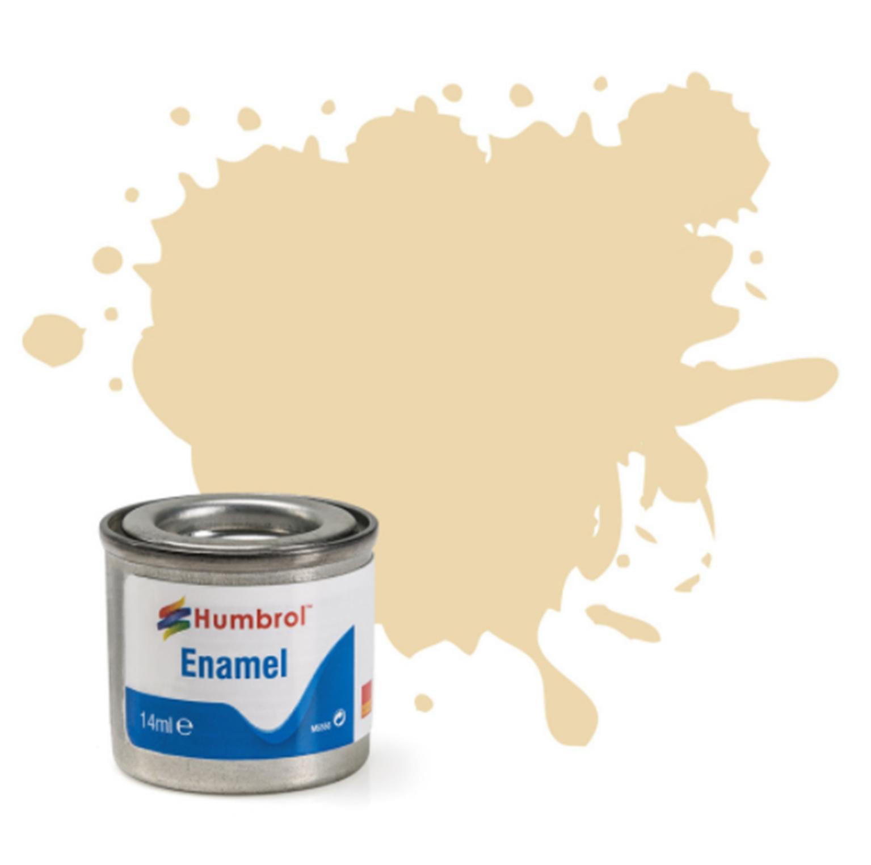 No 71 Satin Oak Satin Enamel Paint (14ml)