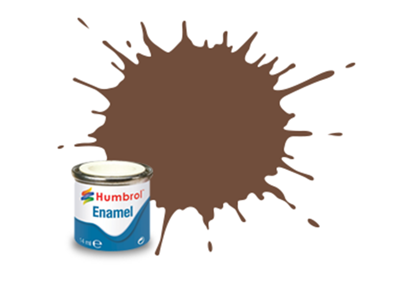 98 Chocolate Matt - 14ml Enamel Paint