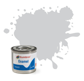No 147 Light Grey Matt Enamel Paint (14ml)