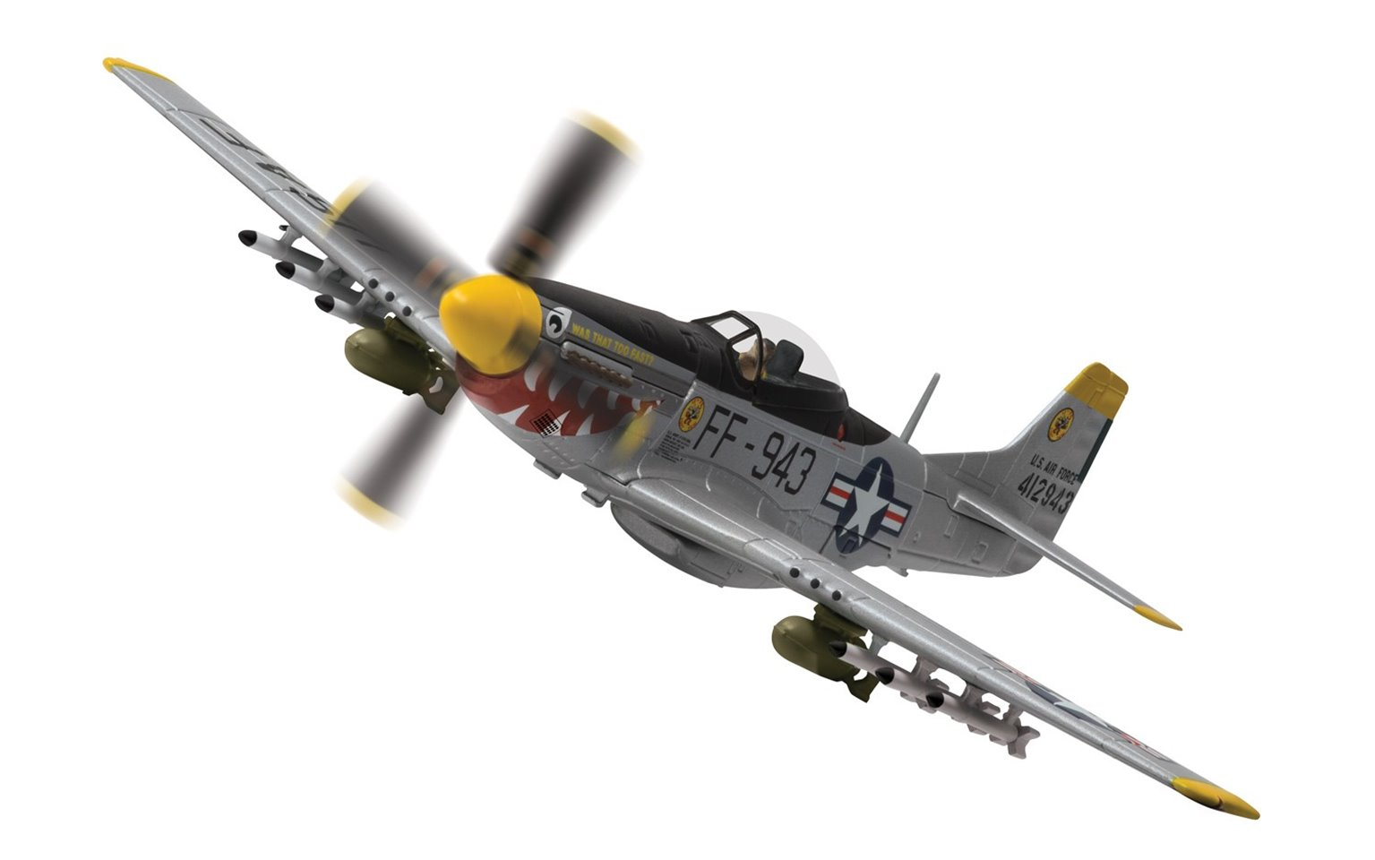 1:72 North American F-51D Mustang™, 44-12943/FF-943 'Was that too fast?'