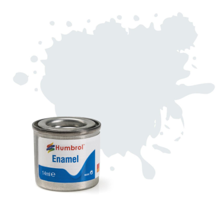 No 191 Chrome Silver Metallic Enamel Paint (14ml)