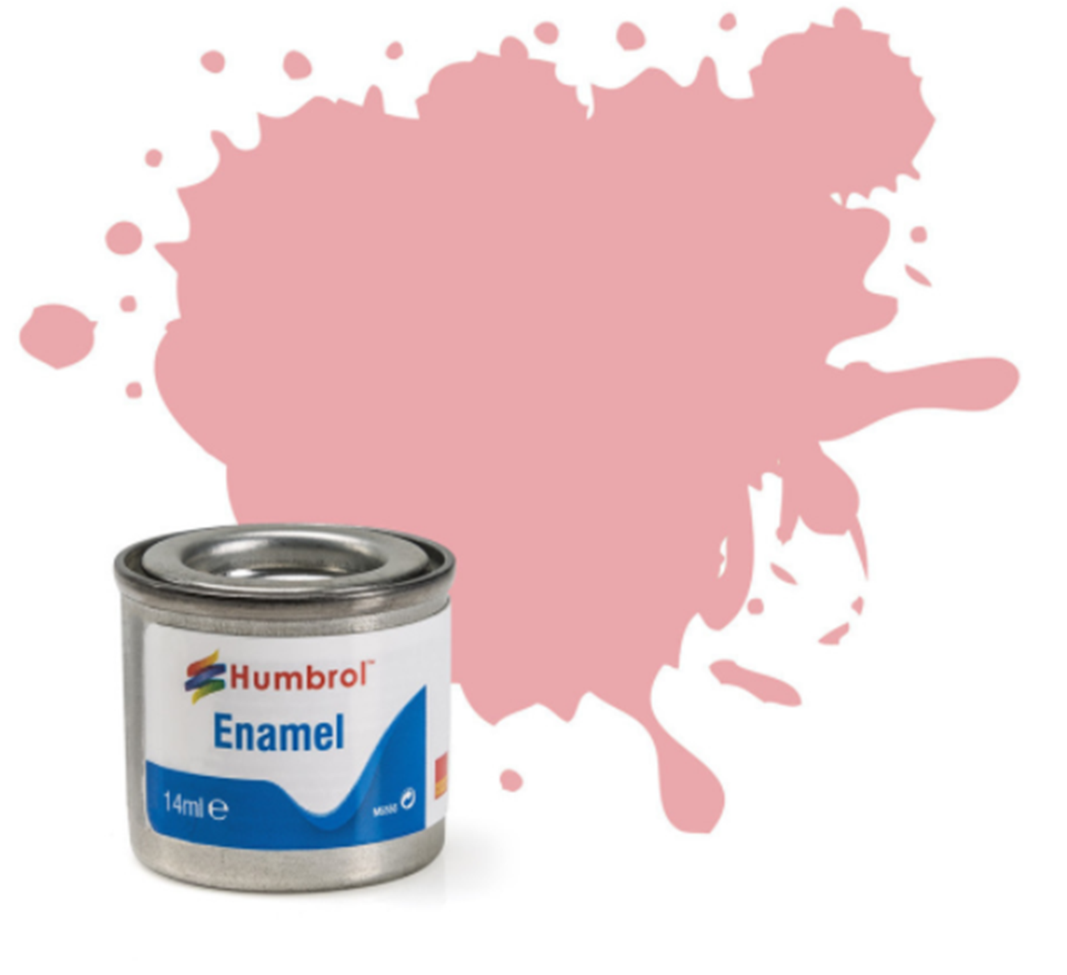 No 200 Pink Gloss Enamel Paint (14ml)