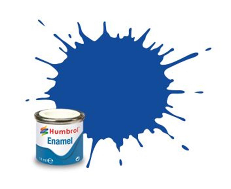 Humbrol 222 Moonlight Blue Metallic - 14ml Enamel Paint