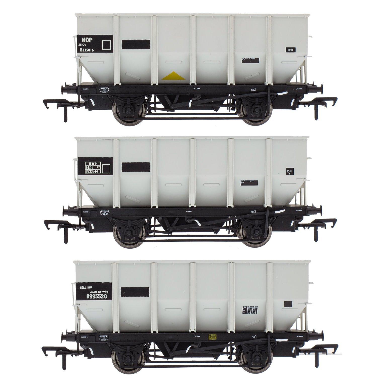 BR 24.5T HOP24/HUO Coal Hopper - Grey pre TOPS- Pack N