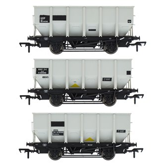 BR 24.5T HOP24/HUO Coal Hopper - Grey pre TOPS- Pack P