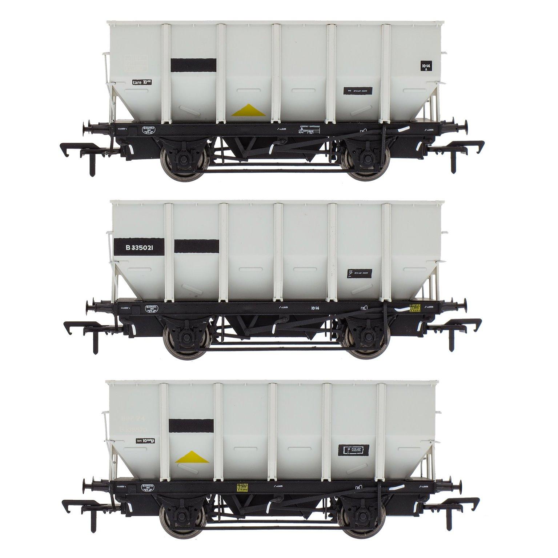 BR 24.5T HOP24/HUO Coal Hopper - Grey pre TOPS- Pack Q