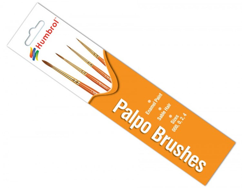 Palpo Brush Pack - Size 000/0/2/4