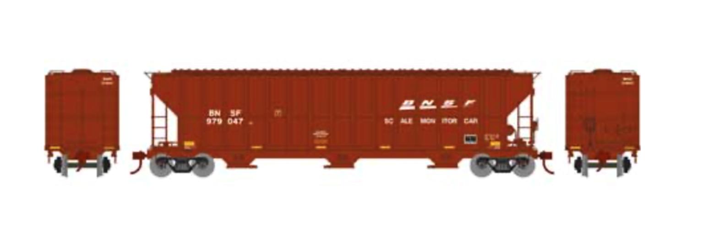 RTR FMC 4700 Covered Hopper, BNSF/Scale #979047