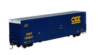 RTR FMC 60' DD/SS Hi-Cube Box, CSX #166667