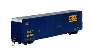RTR FMC 60' DD/SS Hi-Cube Box, CSX #166689
