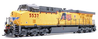 ES44AC Union Pacific UP/Fader Locomotive #5537 with DCC Sound