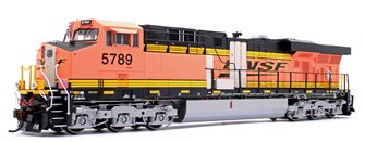 ES44AC BNSF w/PTC Primer Locomotive #5789 with DCC Sound