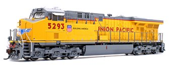 ES44AC Union Pacific UP/No Flag Locomotive #5293 with DCC Sound