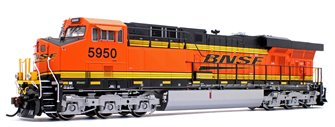ES44AC BNSF w/PTC Locomotive #5950 with DCC Sound