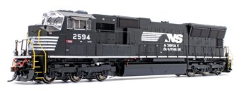 Norfolk Southern SD70M NS/Flare w/ PTC Locomotive #2594 with DCC Sound