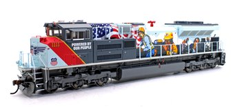 "SD70ACe Union Pacific UP #1111 ""Powered by our People"" Locomotive with DCC Sound"