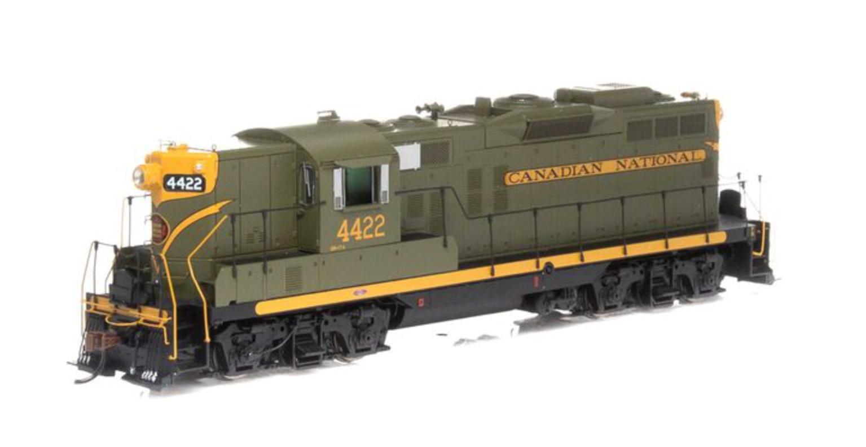 GP9 Canadian National Diesel Locomotive #4422 (DCC Ready)