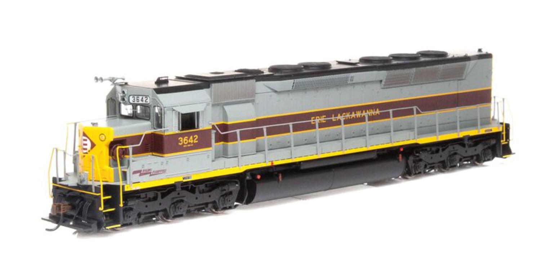 SDP45 Erie Lackawanna EL Locomotive #3642 with DCC Sound