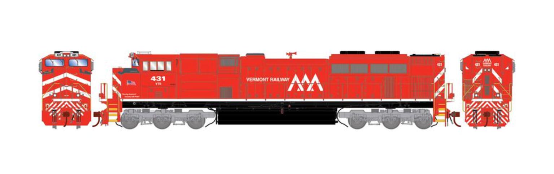 G2 SD70M-2 VTR Vermont Railway Diesel Locomotive #431 (DCC Ready)