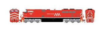 G2 SD70M-2 VTR Vermont Railway Diesel Locomotive ##432 (DCC Ready)