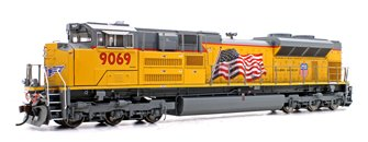 "SD70ACe (SD70AH) Union Pacific UP #9069 ""Building America"" Locomotive (DCC Ready)"