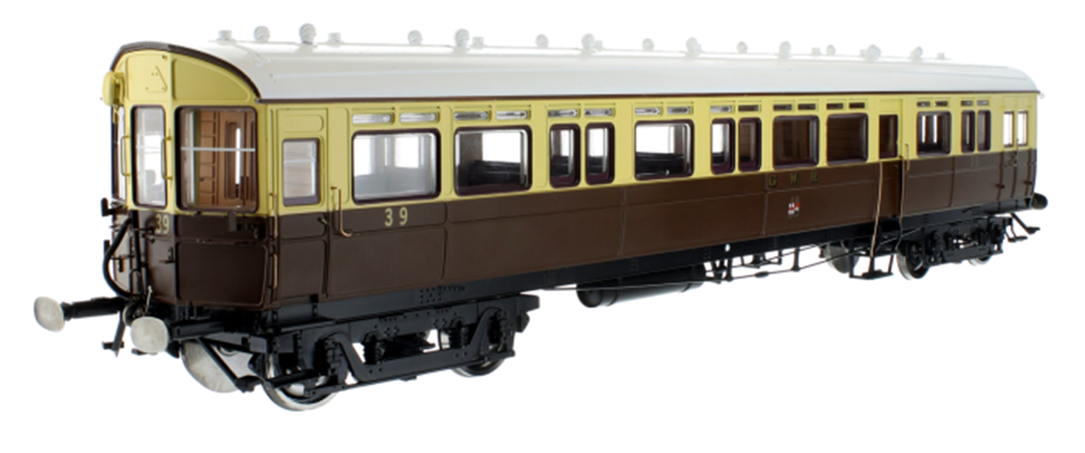 Autocoach GWR Twin Cities Crest 38 Chocolate & Cream