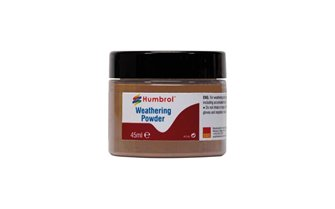 Weathering Powder Light Rust - 45ml