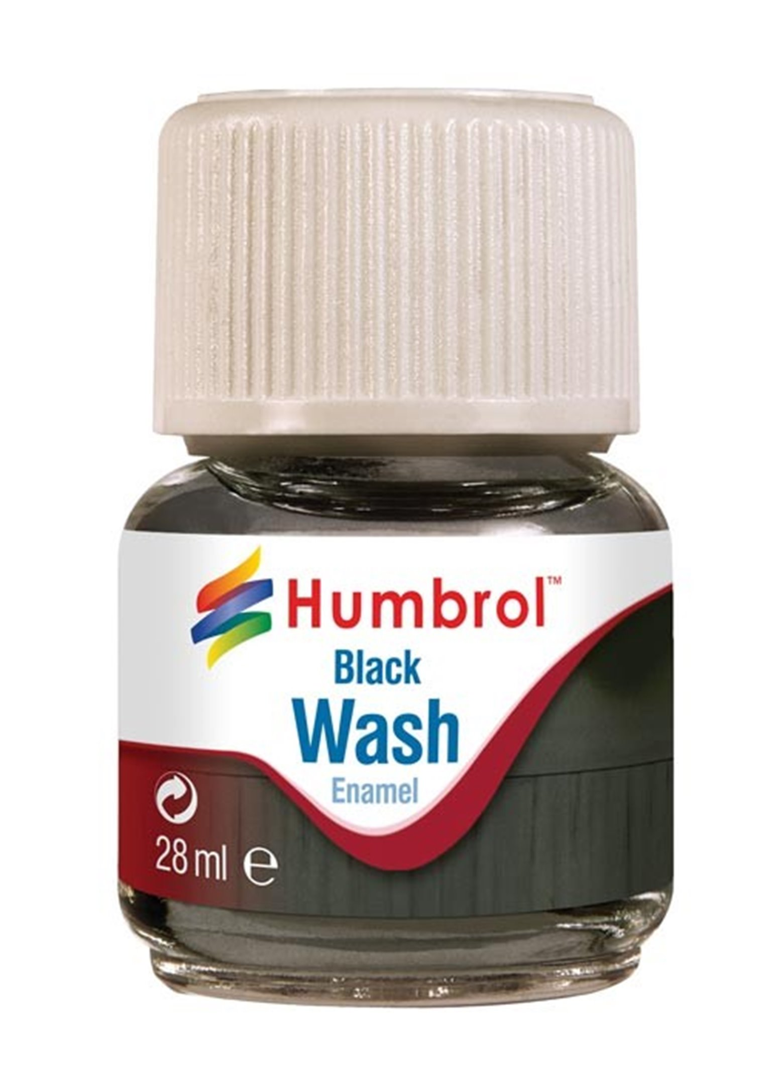 Enamel Wash Black 28ml