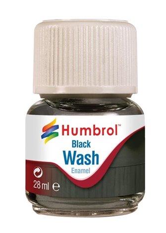 Enamel Wash Black 28ml
