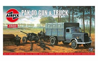 Vintage Classics Opel Blitz & Pak 40 Gun (1:76 Scale)