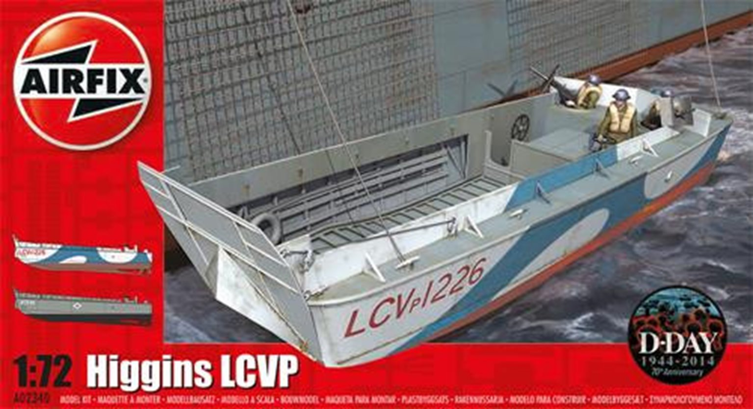 Higgins LCVP (1:72 Scale)