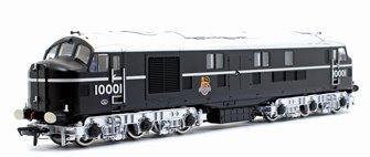 LMS No. 10001 BR Black and Chrome (Early Emblem) Diesel Locomotive