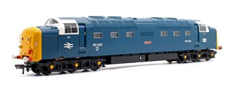 Class 55 Deltic 55003 'Meld' BR Blue Diesel Locomotive with DCC Sound