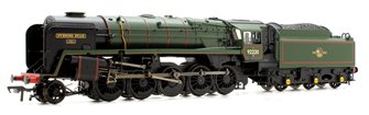 BR Green Late Crest 'Evening Star' Standard Class 9F 2-10-0 Loco 92220