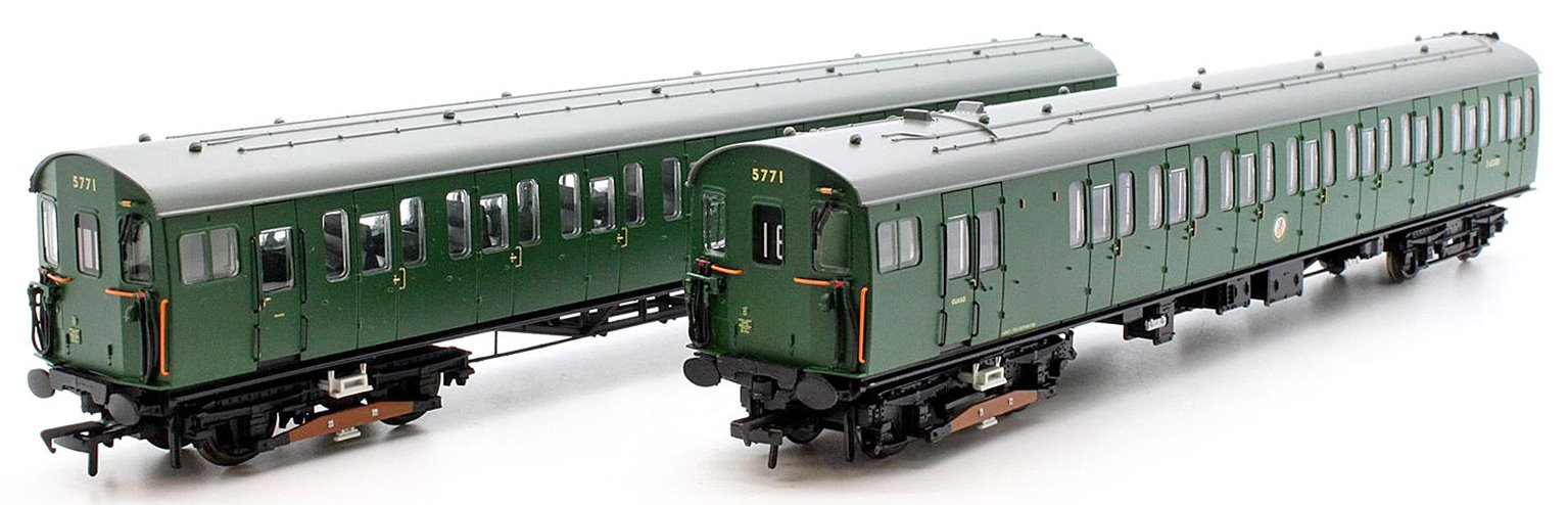Class 416 2EPB 2 Car EMU 5771 BR Green (No warning panel)