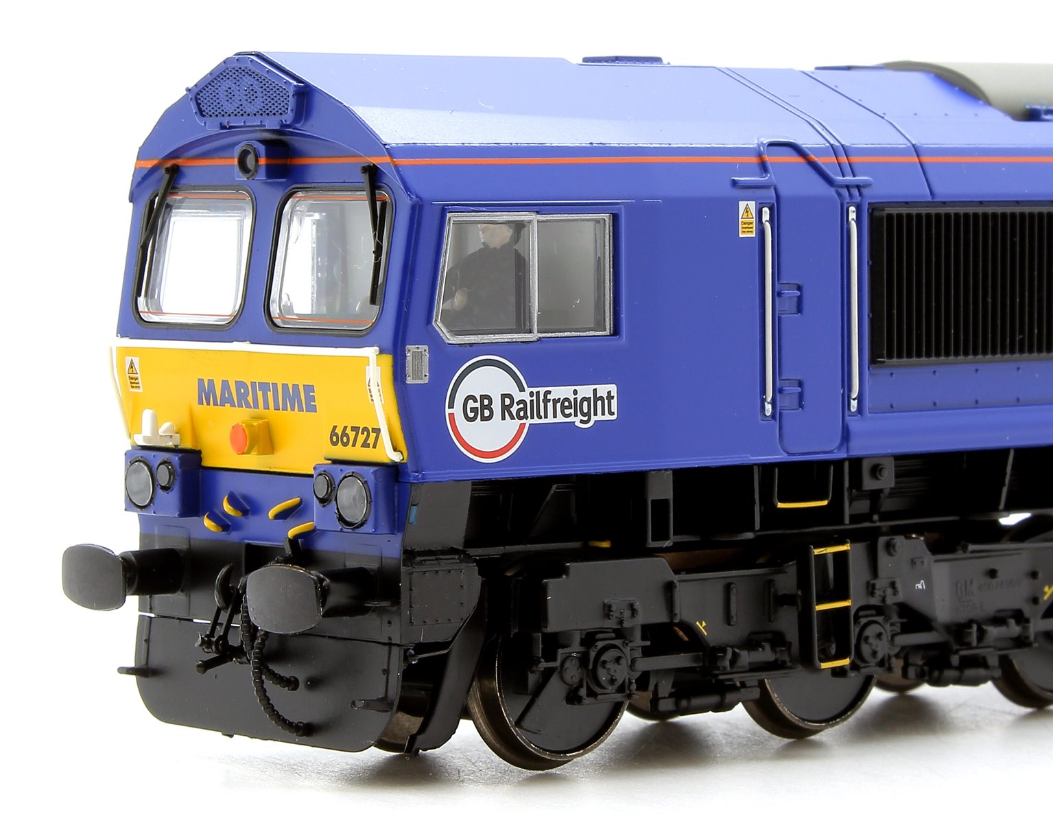 Class 66 727 'Maritime One' GBRf Maritime Diesel Locomotive