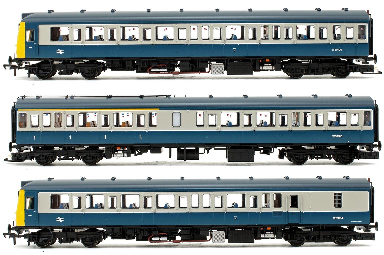 Class 117 3-Car DMU BR Blue & Grey DCC Sound