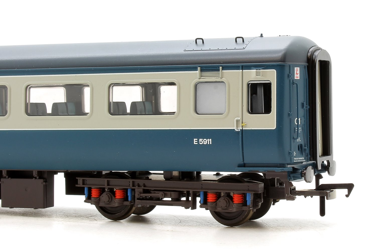 BR MK2F TSO Tourist Second Open Blue & Grey Intercity Coach