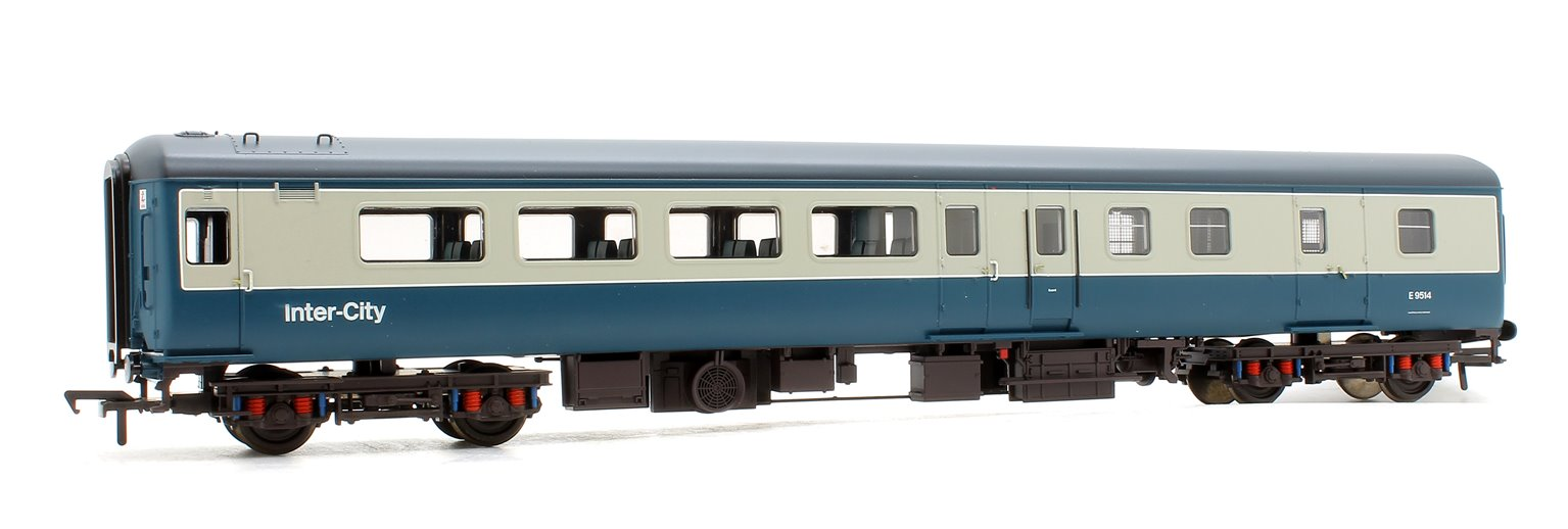 BR MK2F BSO Brake Second Open Blue & Grey Intercity Coach