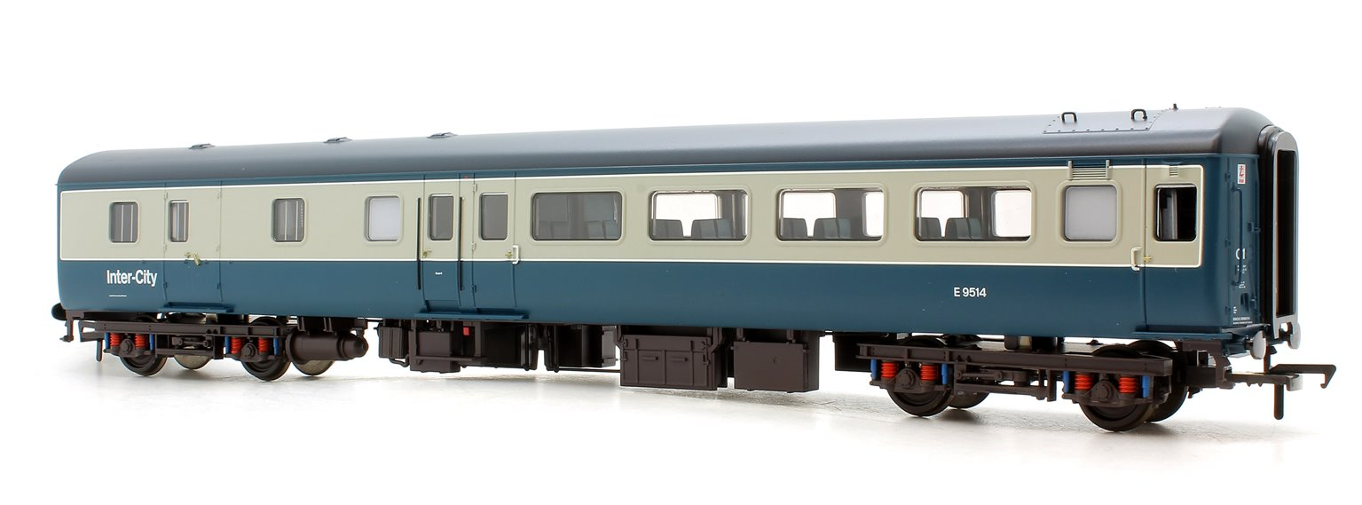 39-700DC BR MK2F BSO Brake Second Open Blue & Grey Intercity