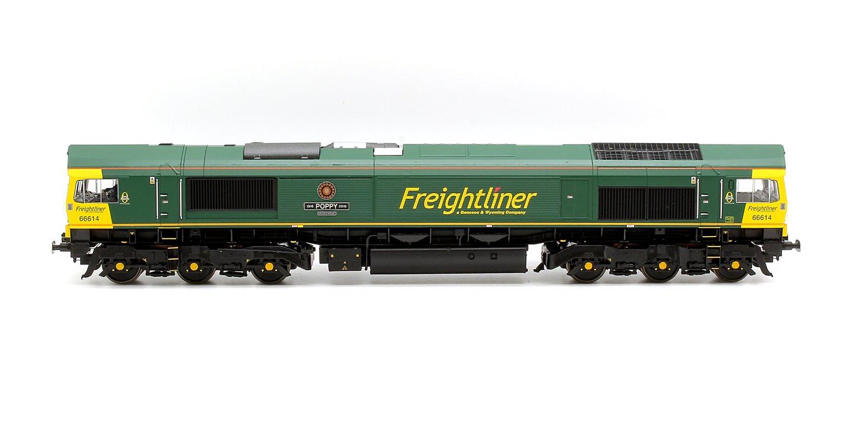 Class 66 614 'Poppy' Freightliner Diesel Locomotive