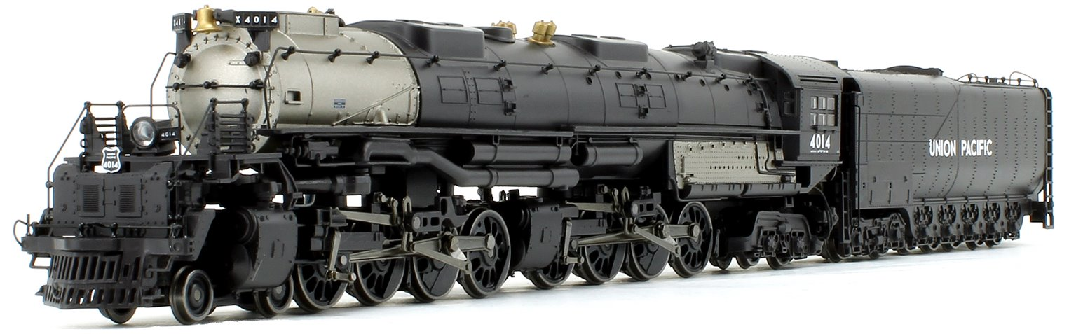 "Hornby Rivarossi Union Pacific 4-8-8-4 ""Big Boy"" Heavy Freight Steam Locomotive No.4014 Sound Fitted"