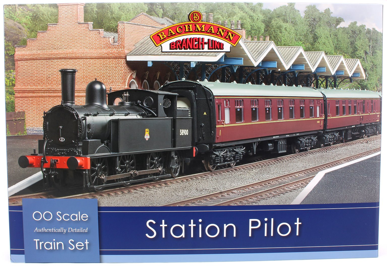 The Station Pilot Train Set